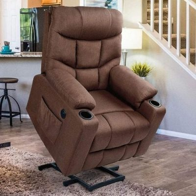 Esright power lift recliner seat with power lift feature