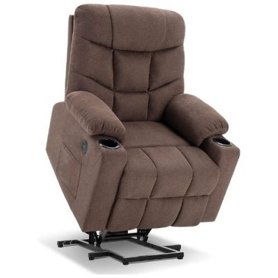 Mcombo Recliner seat with rocking feature and power lift mechanism