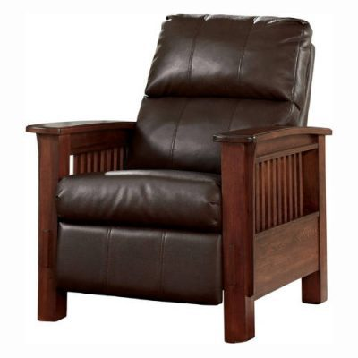 signature design by ashley mission style recliner